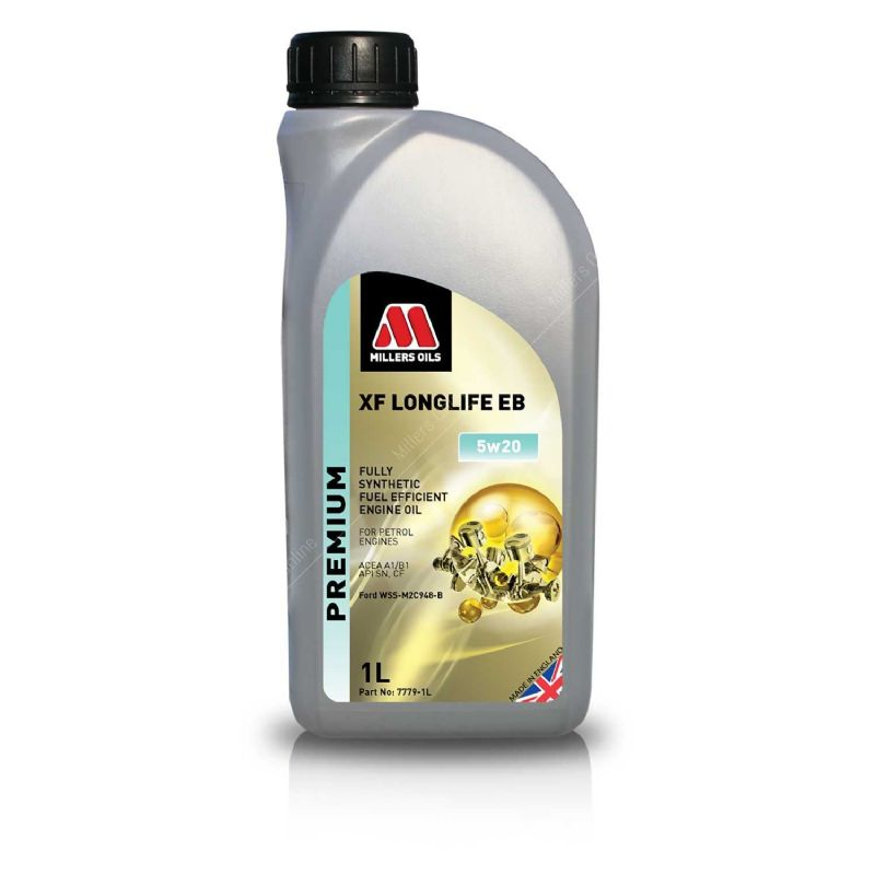 Ford Focus ST250 Millers Engine Oil XF Longlife EB 5w20 1L